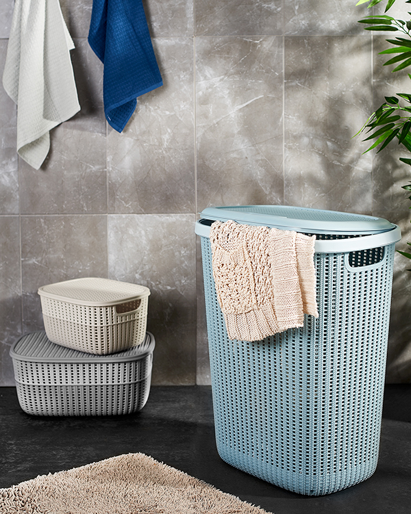 Knitty Laundry Hamper 57 lt G654