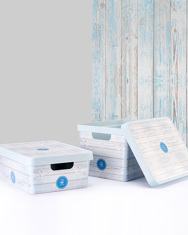 Vinto Storage Box With Lid 17 lt G643-W